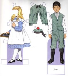 Children's Fashion's Harper Bazaar - edprint2000paperdolls - Picasa Webalbum