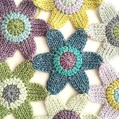Tunisian Flower Blanket Pattern PDF
