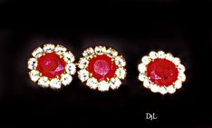Imelda Marcos' Ruby and Diamond Earrings and Ring Diamond Earrings, Stud Earrings, Bling Bling, Philippines, Jewelry Collection, Gems, Jewels, Gemstones, Studs