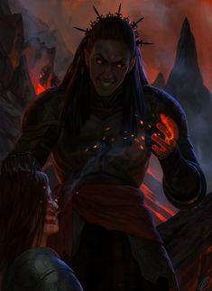 Sauron and Gil-galad