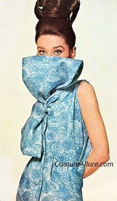 Couture Allure Vintage Fashion: Audrey Hepburn in Givenchy Eveningwear, 1963