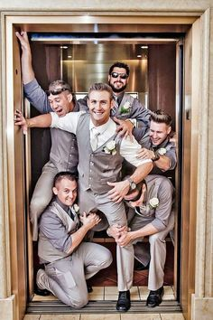 30 Fun Groomsmen Photo Ideas and Poses You Have To Try   Deer Pearl Flowers