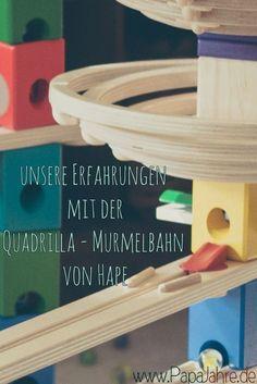 "Murmelbahn Holz ""Quadrilla"" von Hape"