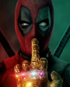 A message from Deadpool to Thanos - Marvel Comics Thanos Marvel, Marvel Dc Comics, Marvel Avengers, Ms Marvel, Marvel Art, Disney Marvel, Art Deadpool, Marvel Heroes, Deadpool Wallpaper