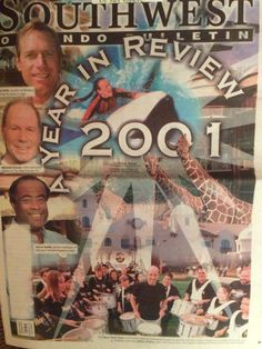 Our Jan. 19, 2002, cover, where we took a look back at some of the highlights of 2001. In January, Hard Rock Hotel opened and construction began on Royal Pacific Resort. April saw the addition of Disney's Animal Kingdom Lodge. In June, the Orlando Solar Bears hockey team halted operations. In August, Olympia High School opened to relieve crowding. In October, the U.S. Olympic Committee announced that Orlando was not in the running for the 2012 summer games, and the bid eventually went to…