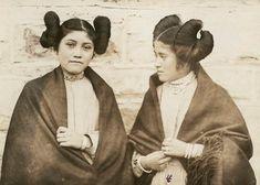 Hopi girls 1920