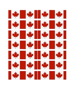 printable pictures of things in cananda   Canada Day Cupcakes with FREE Printable Flag Template.   Geek & Things