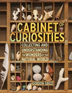 Cabinet of Curiosities: Collecting and Understanding the Wonders of the Natural World by Gordon Grice ~ Great hands on book for older kids and teens. Saving this one for when Liam gets a little older. We already love to collect things from nature. Natural World, Natural History, Nw Natural, Letterpress Drawer, Cabinet Of Curiosities, Natural Curiosities, Nature Collection, Rock Collection, Nature Journal