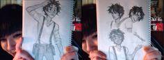 Leo Valdez drawings by viria viria is soo pretty Percy Jackson Books, Percy Jackson Fandom, Leo And Calypso, Percy And Annabeth, Jason Grace, Leo Valdez, Uncle Rick, Viria, Percabeth
