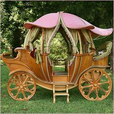 cinderella's carriage bed - Google Search