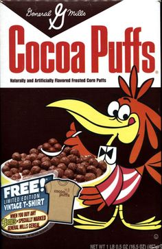 Cereal Packaging, Food Packaging, General Mills Cereal, Corn Puffs, Types Of Cereal, Cornflakes, Cereal Killer, Vintage Packaging, Vintage Branding