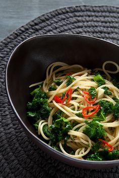 Photo-copy: Supersnelle vegetarische pasta met boerenkool