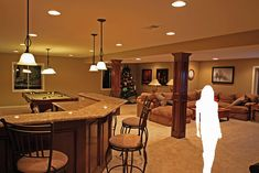 basement+bar | Hathaway basement bar | Flickr - Photo Sharing!