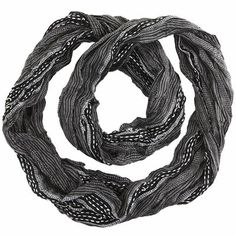 Woven Infinity Scarf ~Kaytee  Scarves are a big interest of mine :)