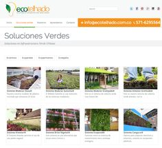 Sitio web para ECOTELHADO - Año ©2013