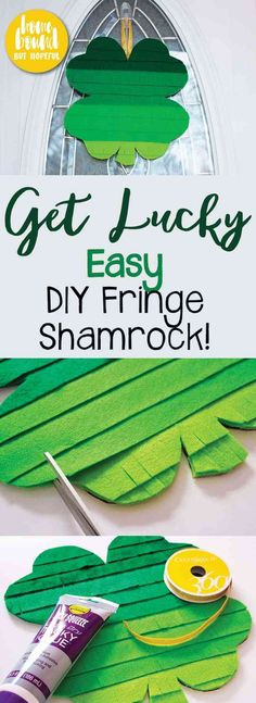 Not quite ready for St. Patrick's Day yet? It's your lucky day! I'm sharing this super easy DIY shamrock decoration on the blog. The project is simple to assemble, the supplies are inexpensive, and the end result is incredibly cute!