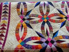 Thread Tales from a Scrappy Quilter: My Bali Wedding Star