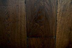 antieke eiken vloeren verouderd eiken in donker bruine olie