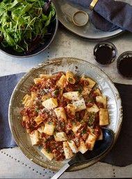 Lamb Ragu with Penne Pasta