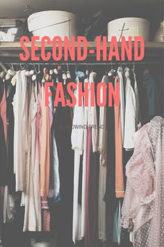 Second-hand fashion is a growing trend — Major Online Business and Marketing Used Clothing, Two Hands, Online Business, About Me Blog, Stuff To Buy, Clothes, Watch, Check, Youtube