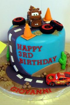 Disney Cars Cake Ideas  - For all your cake decorating supplies, please visit craftcompany.co.uk