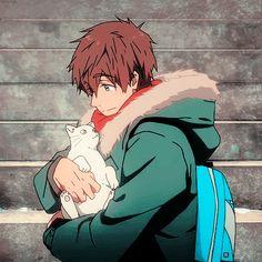 Eternal Summer Mako-chan so fricken cute! Anime Boys, Hot Anime Guys, Anime Manga, Anime Art, Makoto Tachibana, Makoharu, Splash Free, Free Eternal Summer, Gifs