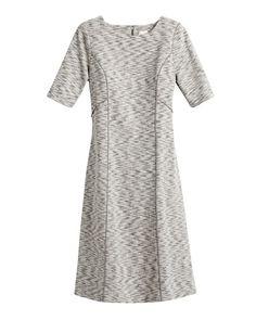 Bi-Color Textured Dress - Chico's