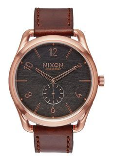 C45 Leather, Rose Gold / Brown