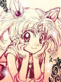 Arinacchi's Sailor Chibi Moon fan art.