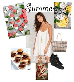"""""""Untitled #116"""" by tay-liangg on Polyvore featuring interior, interiors, interior design, home, home decor, interior decorating, Giuseppe Zanotti, Burberry and summerbbq"""
