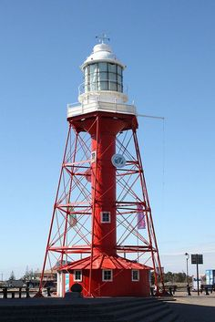 The Port Adelaide Lighthouse ♠ re-pinned by http://www.waterfront-properties.com/