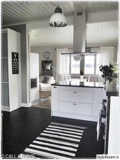 ruokailutilat,keittiö,keittiönpöytä,keittiön sisustus,minun keittiöni Kitchen Island, Kitchen Cabinets, Decoration, Tips, Home Decor, Island Kitchen, Decor, Decoration Home, Room Decor