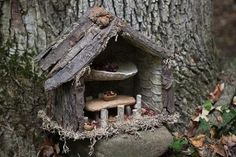 Grandma Can Make Fairy Houses From Forest Finds - Home Garden Companion