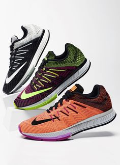 Heels up to head out in the Nike Running Zoom Elite 8. So fast, they come with their own airbag.