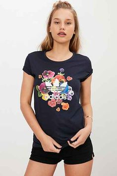 adidas Originals Floral Firebird Track Jacket - Urban Outfitters
