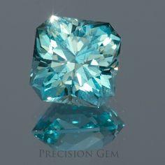 Aquamarine Custom Cut Gemstones - Precision Gem
