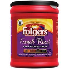 Folgers Coffee French Roast