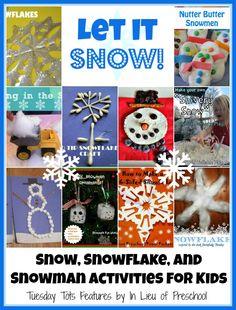10 snow activities for kids