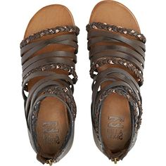Billabong Womens Sunset Lover GLADIATOR Sandal Espresso 10 M US *** You can find out more details at the link of the image.