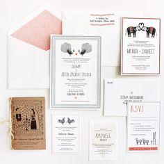 Wedding Invitations by Mr. Boddington's Studio via Oh So Beautiful Paper (3)
