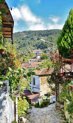 Şirince Köyü - İzmir.  Emrah Hemşinli