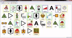 Procesador de textos basado en pictogramas