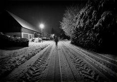 Meet me at Night Railroad Tracks, Meet, Night, Train Tracks