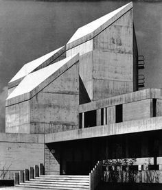 Religious Center and Publishing House, Munich, Germany, 1959-66