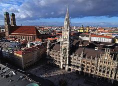 Munich, Germany... there are MANY places I need to revisit in Germany, but loved it here.