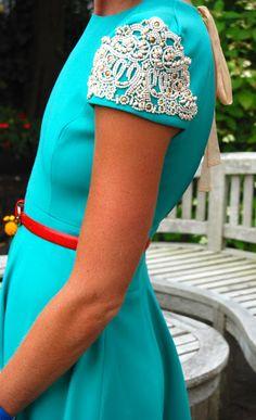 beaded sleeves