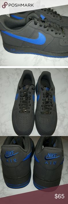 Men's Nike Air Force 1 Night Stadium/Game Royal Used only once basically brand new Nike Shoes