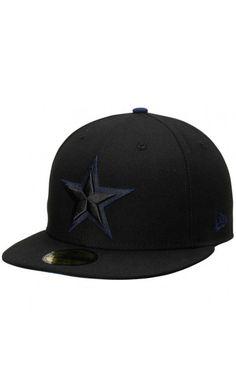 436a9c5a735 NFL Mens CinNFL Men s Dallas Cowboys New Era Black Pop Flip 59FIFTY Fitted   Hat  sportshat