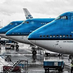 3 In a row. Picture taken by @sebastianlohan #KLM #boeing747 #3inarow