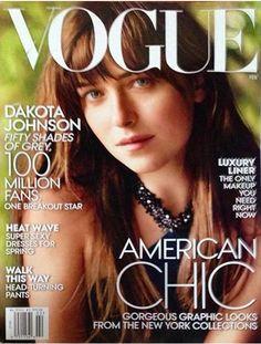 Dakota Johnson en la portada de Vogue US | Febrero 2015